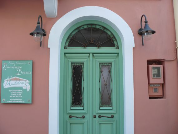 Traditional wooden door